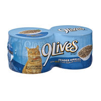 9Lives Tender Nibbles with Real Chicken in Gravy Cat Food - 4 CT