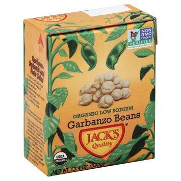 Jack's Jacks 2396 Quality Organic Ls Garbanzo Beans Case Of 16