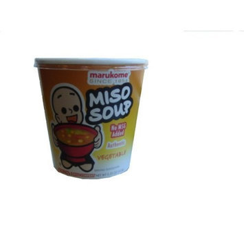 Marukome Miso Instant Vegetable, 0.35-Ounce Containers (Pack of 10)