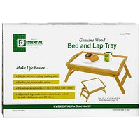 Essential Medical Genuine Wood Bed and Lap Tray