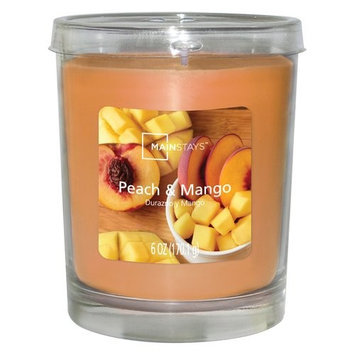 Mainstays Jar Candle, Peach Mango, 6 oz