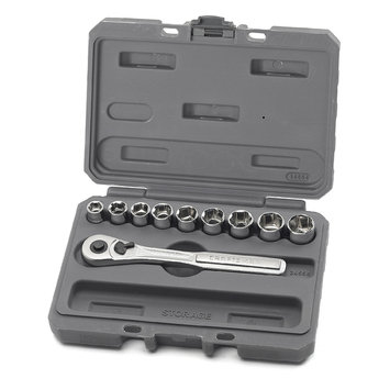 Craftsman 10 pc. 6 pt. 3/8 in. Metric Socket Wrench Set