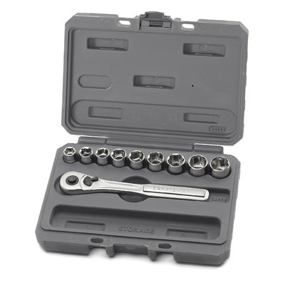 Craftsman 10 pc. 6 pt. 3/8 in. Metric Socket Wrench Set