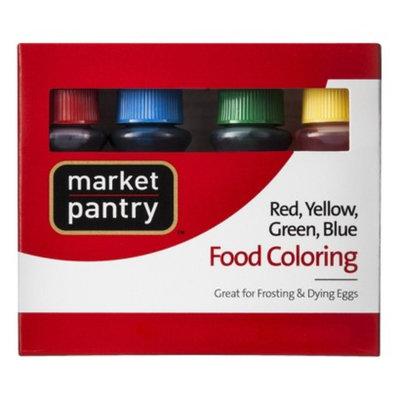 market pantry Market Pantry Assorted Food Color 0.3 oz. Bottles 4 ct