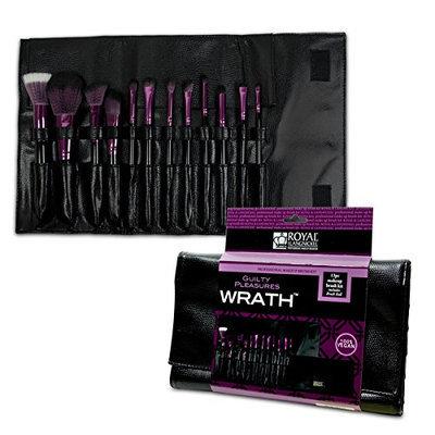 Royal Brush Guilty Pleasures Wrath Cosmetic Brush Wrap Kit