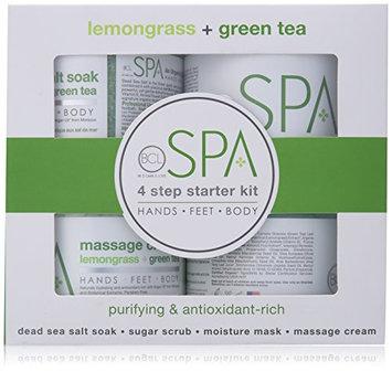 BCL Spa Lemongrass and Green Tea Starter Kit