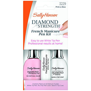 Sally Hansen Treatment Diamond Strength French Manicure Pen Kit Pink-A-Boo