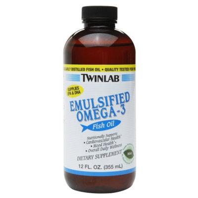 Twinlab Emulsified Omega-3 Fish Oil