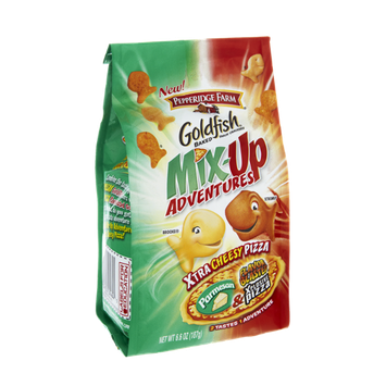 Pepperidge Farm Goldfish Mix-Up Adventures Parmesan & Xplosive Pizza Baked Snack Crackers