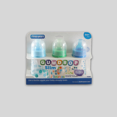 The First Years, Inc The First Years GumDrop Slim Neck Infant's Bottles - 3 Pack