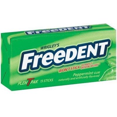 Freedent Peppermint Gum, 15-Stick Plen-T-Paks (Pack of 24)