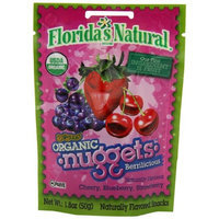 Florida's Natural Berrilicious Au'some Nuggets organic, 1.8 Ounce (Pack of 8