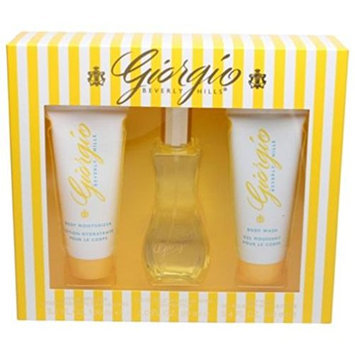 Giorgio Beverly Hills 3 Piece Fragrance Set for Women