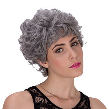 Generic Kinky Curly Heat Resistant Synthetic Hair Replacement Wig