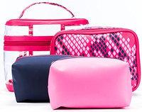 Danielle 4-Piece Cosmetic Bag-in-Bag Set