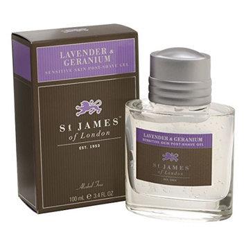 St James of London Lavender & Geranium Post Shave Gel