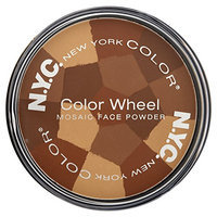 New York Color Wheel Mosaic Face Powder