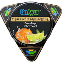 GoAyur Lemon Orange Age Defying Ayurvedic Night Cream