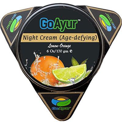 GoAyur Lemon Orange Age Defying Ayurvedic Night Cream