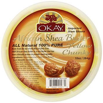 Okay Shea Butter Chunks Jar