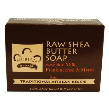 Bar Soap Raw Shea Butter 5 Oz By Nubian Heritage