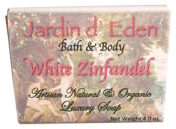 White Zinfendel Wine Natural & Organic Bar Soap