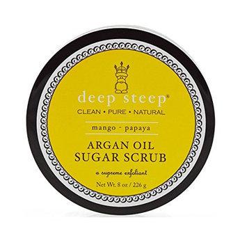 Deep Steep Argan Oil Sugar Scrub Mango Papaya