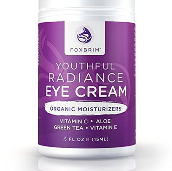 Youthful Radiance Eye Cream for Dark Circles & Puffiness - .5oz / 15mL