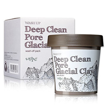Goodal Wash Up Deep Clean Pore Glacial Clay Wash Off Pack