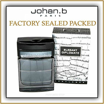 Johan B. Elegant Diplomate Eau De Toilette Spray for Men