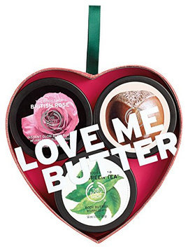 The Body Shop Love Me Butter Caring Body Butter Trio Gift Set