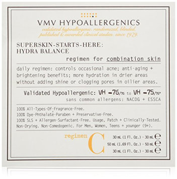 VMV Hypoallergenics Superskin Starts-Here-Set for Combination Skin