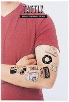 Tattly Temporary Tattoos Photography Set