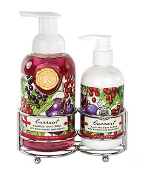 Michel Design Works Caddy with Lotion and Foaming Hand Soap Set
