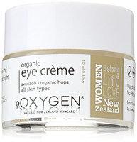 Oxygen Organic Eye Cream for All Skin Types