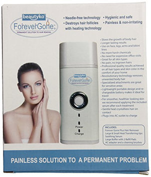 Beautyko Gone Pain Free Hair Removal Complete System
