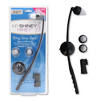 My Shiney Hiney Silky Soft Bristle Personal Cleansing Kit - Black