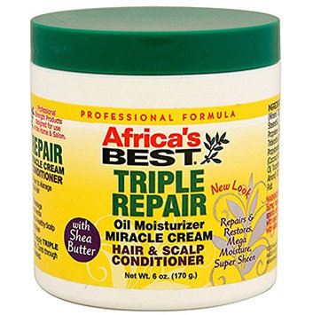Africa's Best Triple Repair Oil Moisturizer Hair and Scalp Conditioner