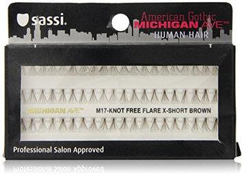Sassi 804-M17 Michigan Ave 100% Human Hair Knot Free Extra Short Eyelashes