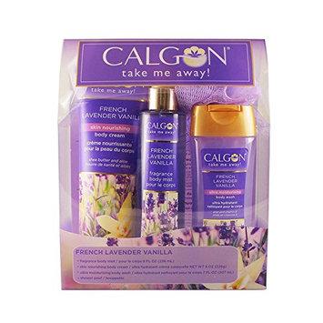 Calgon Lavander Vanilla 4 Piece Gift Set for Women