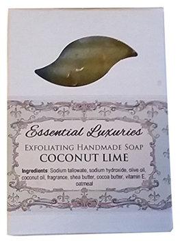 Coconut Lime Soap - Exfoliating - Oatmeal