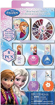Frozen Deco Nails with Wheel