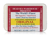 Dead Sea Warehouse Amazing Minerals Original Face and Body Care Bar
