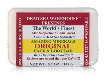Dead Sea Warehouse Amazing Minerals Original Face and Body Care Bar