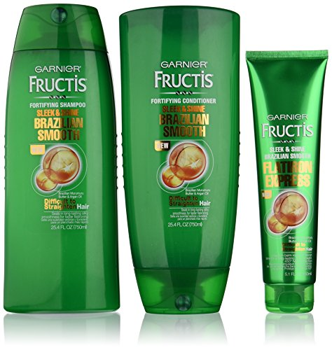 Garnier Hair Care Fructis Brazilian Smooth Bundle Set