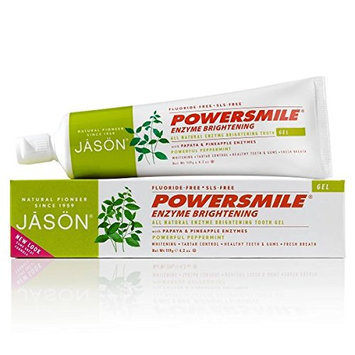 Jason Powersmile Enzyme Brightening Gel Toothpaste Fluoride-free