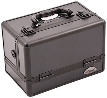 Craft Accents 3-Tiers Expandable Trays All Makeup Case