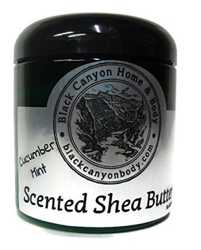 Black Canyon Scented Shea Body Butter (Cucumber Mint)