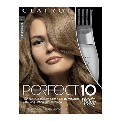 Clairol Perfect 10 By Nice 'N Easy Hair Color 007 Dark Blonde 1 Kit (Pack of 2)