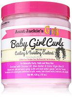 Aunt Jackies Baby Girl Curls Curling and Twisting Custard 15oz